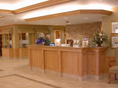 Reception Desk Photo